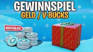 🎁 GEWINNSPIEL! (GELD/V-BUCKS) 🎄 FROHE CHRISTMAS! | Fortnite Battle Royale | Detu