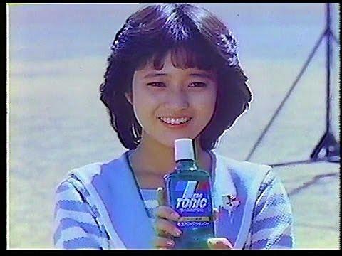 三田寛子 花王トニックシャンプー CM スチル画像。CM動画を再生できます。
