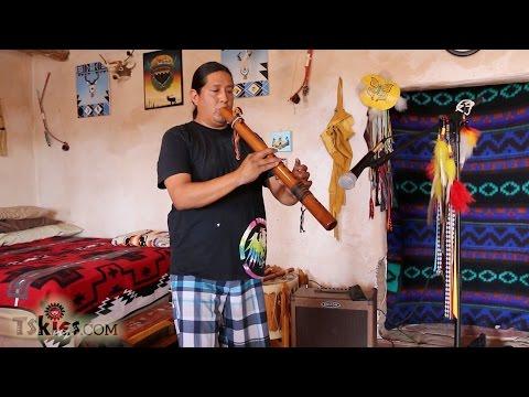 Isaac Coriz Santo Domingo Pueblo Flute Player