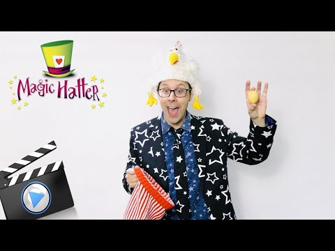 A fun-filled online magic show - Hatter goes DIGITAL!