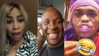 SA celebrities take on Mampintsha Challenge