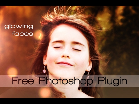 Free Photoshop Plugin : Glowing Faces