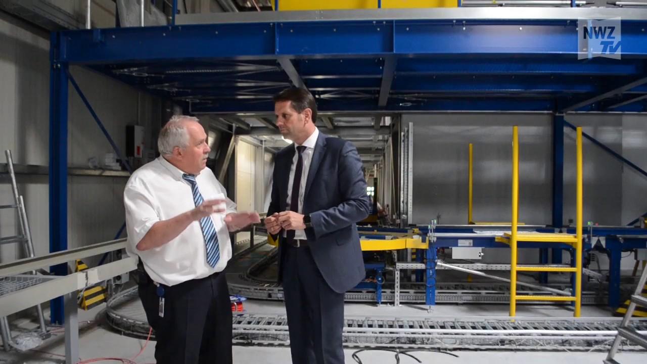 Wirtschaftsminister Besucht Reichelt Elektronik Youtube
