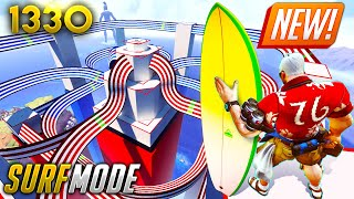 *NEW* SURF MODE LΟOKS CRAZY!! | Overwatch Daily Moments Ep.1330 (Funny and Random Moments)