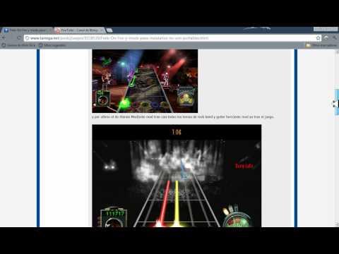 Descargar Frets on Fire (Tema de guitar hero 1,2,3,etc)