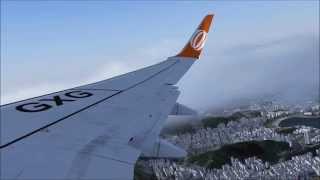 FSX Take-off 737-800 Gol Rio de Janeiro / SDU FullHD 60p