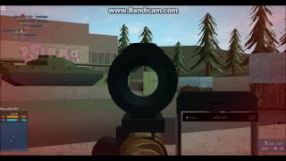 Roblox | GAMEPLAY WITH DRAGUNOV SVU (Phantom Forces