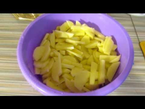 Жареная картошка с грибами / Potatoes Fried With Mushrooms