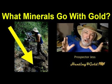 What Minerals Go With Gold (USGS International Gold Maps)