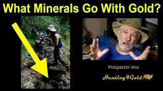 What Minerals Go With Gold - Prospector Jess (USGS International Gold Maps)