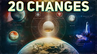 20 BIGGEST Changes in Beyond Light (Sequel Level Updates) | Destiny 2 Beyond Light