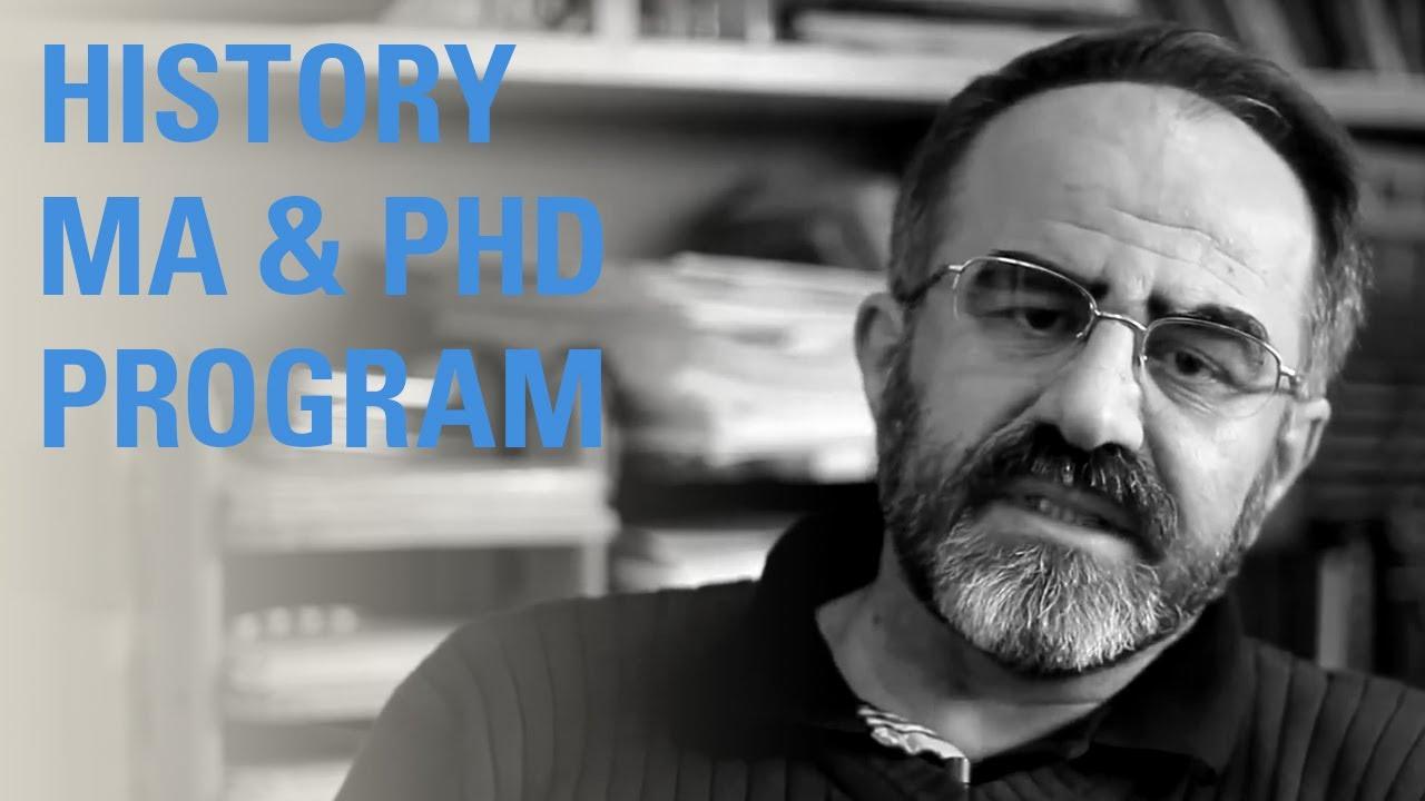 Phd in history