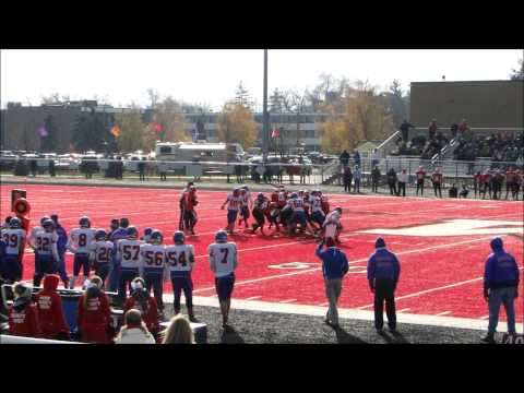 Orchard Lake St. Mary's vs. Mason Bulldogs, First Half Highlights, 11/15/214