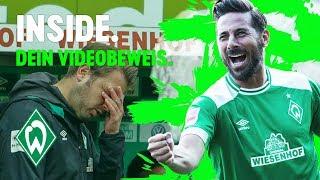 Claudio Pizarro trifft & VARrückte Aufholjagd | WERDER.TV Inside nach Borussia Dortmund