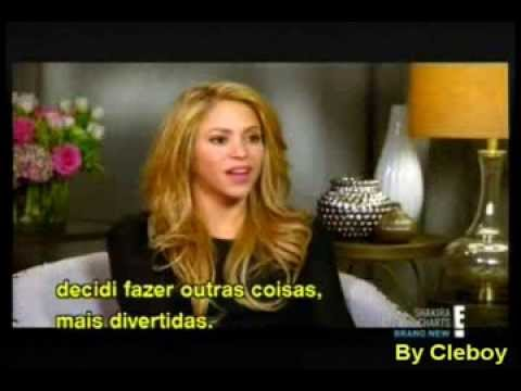 Shakira - Off the Charts Parte 1 (Entrevista legendada ) (2014)