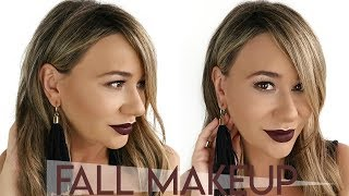 Fall Makeup Tutorial With AMAZING Giveaway!