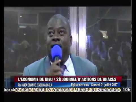 Pasteur Louis Danda l'économie de Dieu  Eglise de elus