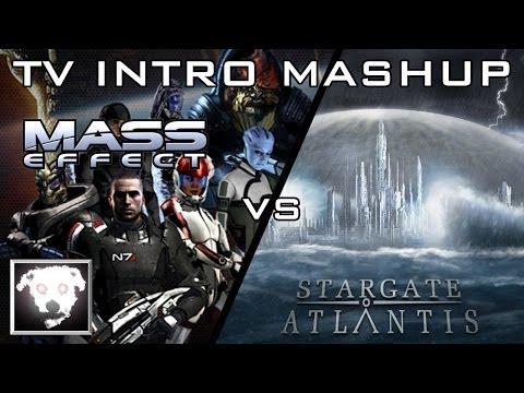 Mass Effect vs Stargate Atlantis (TV Intro Mashup)