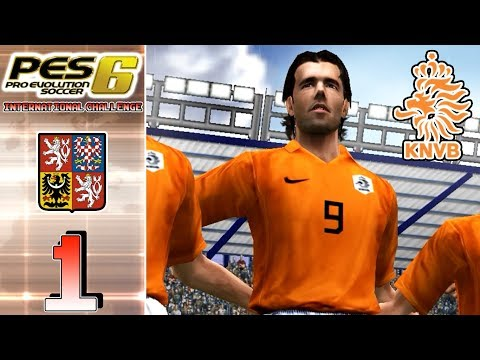 PES 6 International Challenge - [With Netherlands] - Czech R