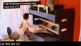Hiddenbed Australia |folding Wall Kids Bunk Study Beds In 1. Sydney Melbourne?