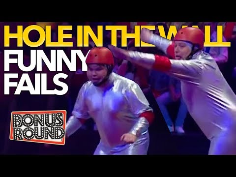 FUNNIEST FAILS & Moments On Hole In The Wall Australia | Bonus Round