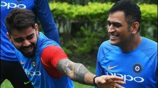 Reality of Dhoni's behaviour and Virat Kohli off the match - Must watch