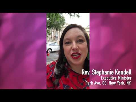 Stephanie Kendell, Exec. Minister, Park Ave. CC, New York, NY