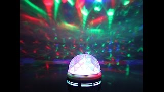 stage light rgb led bulb crystal ball bulb