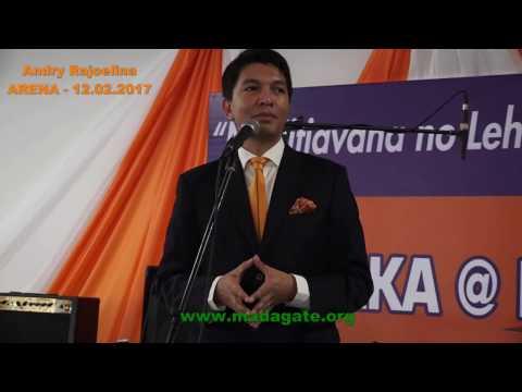 Andry Rajoelina. Kabary Bonne année 2017