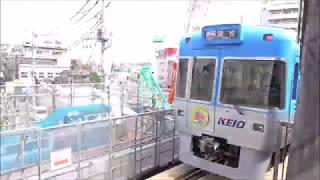 京王井の頭線 1000系1707F編成リニューアル車 下北沢駅発車