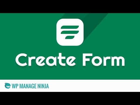 How to Create a Form with WP Fluent Form WordPress Plugin