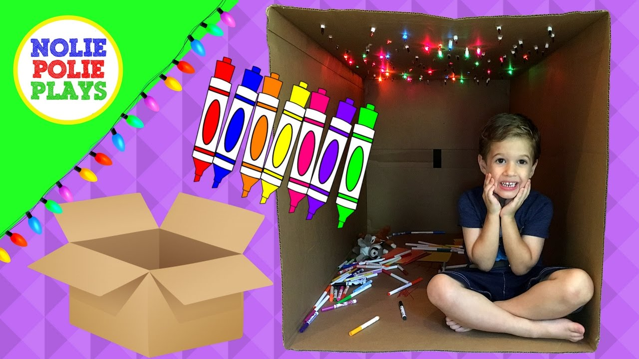 Fun Things To Do With A Big Box Creative Play For Kids Cardboard