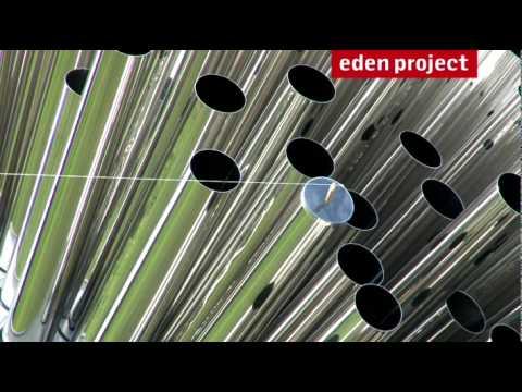 Eden Project: Aeolus wind sculpture exhibit