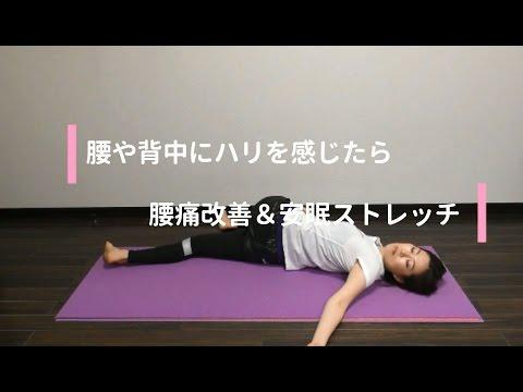 背中 張り 腰痛 の