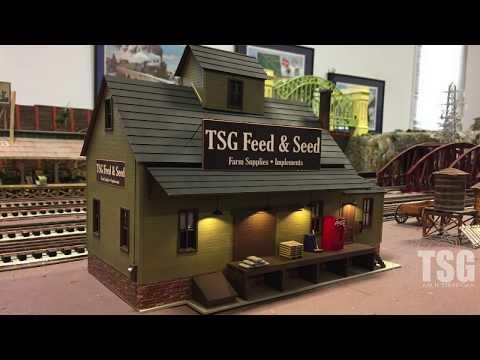 O Scale Feed Store CTTOM Dedication Atlas Dan's Models