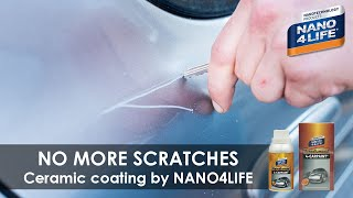 Ultimate car protection | Ceramic coating | Anti-Scratch protection up to 12H | Nanodiamond4Carpaint