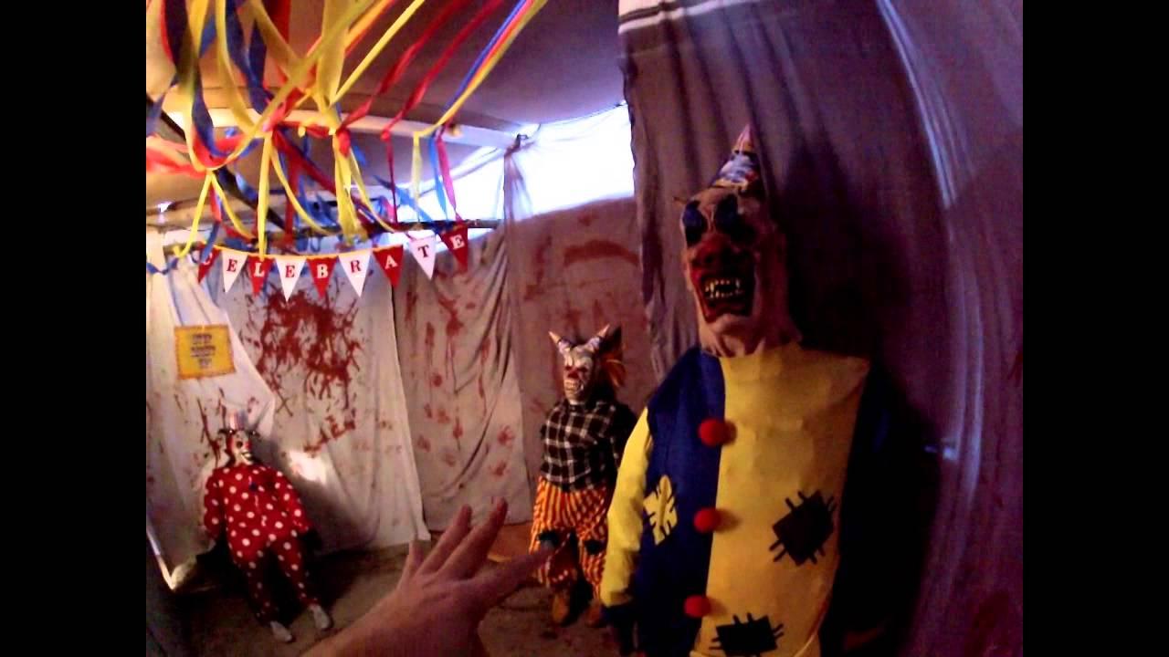Halloween Haunted House Backyard Maze 2014 YouTube