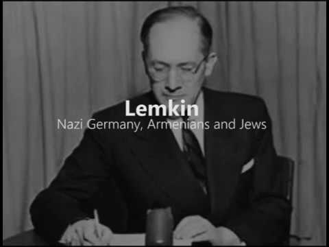 Nazi Germany, Armenians and Jews Conference 2007 - Lemkin