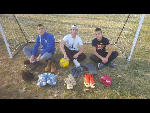 MIXED SHOES PENALTY CHALLENGE !!