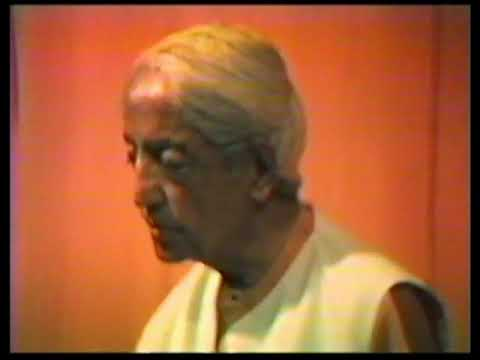 J. Krishnamurti - Rajghat 1984 - Public Talk 1 - What is the significance of our daily life?
