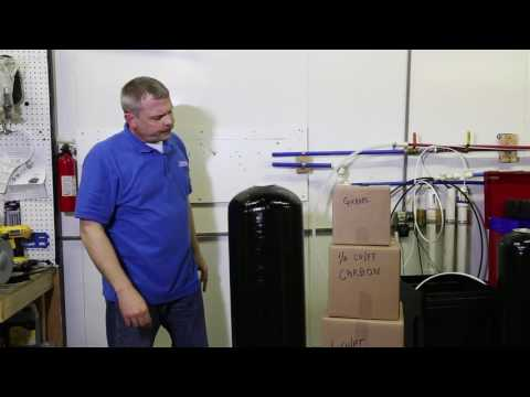 Us Water Systems Backwashing Filter - Installation