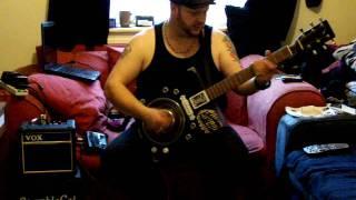 Stumblecol-demo-dog Bowl Resonator-wine Box Guitar