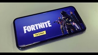 FORTNITE ON YOUR SMARTPHONE? (Gameplay + FREE INVITE CODES!)