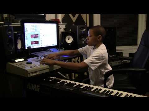 11 yr old Lil IB Mattic Making a Beat on Reason/MPC 2000XL