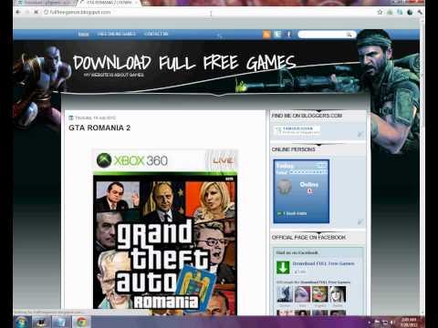 HOW TO DOWNLOAD GTA ROMANIA 2 FREE