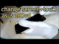 How to change screen+touch asus z00vd