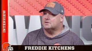 Freddie Kitchens Preps For Jets In Week 2 - Exclusive Interview   Browns Countdown