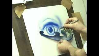 Basic airbrush  skills