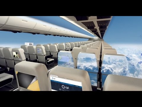 Aerospace Windowless Aircraft