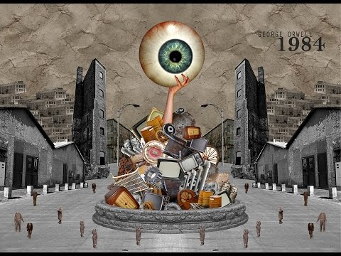 In George Orwell's 1984, what are the two aims of the Party?